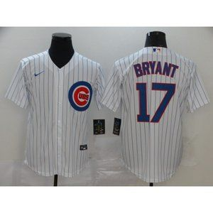 Chicago Cubs Kris Bryant White Jersey